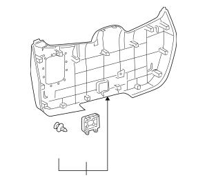 2010-2013 Toyota Highlander Lower Trim Panel 64780-0E040
