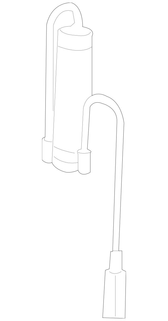 Mercedes-Benz OEM Strut Harness Part# 164-540-67-10-64