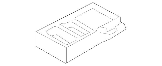 2012 Lincoln MKS Armrest Assembly CA5Z-5467112-BB