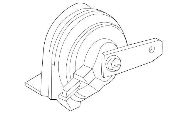 2009-2015 Honda PILOT 5-DOOR Horn Assembly (Low) 38100-STX