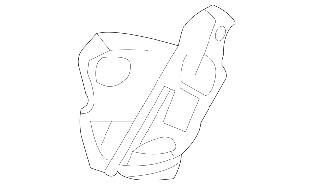 Buy this Genuine 2010-2013 Volvo C30 Lower Bracket