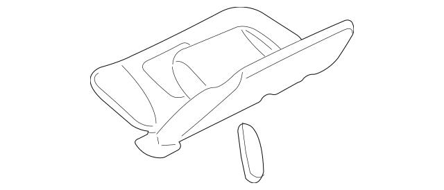 Buy this Genuine 2007 Ford Explorer Sport Trac Sun-Visor