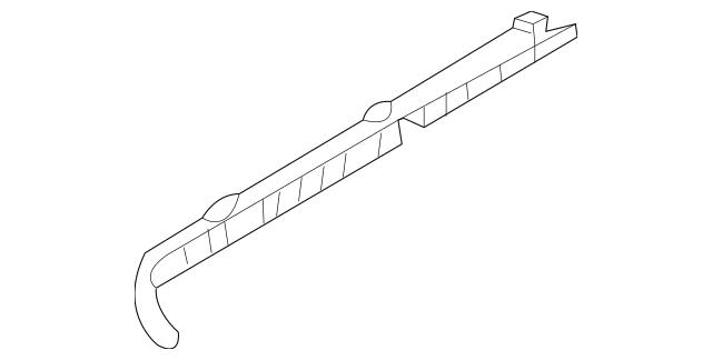 Genuine OEM Center Rail Part# 83910-4D000 Fits 2006-2014