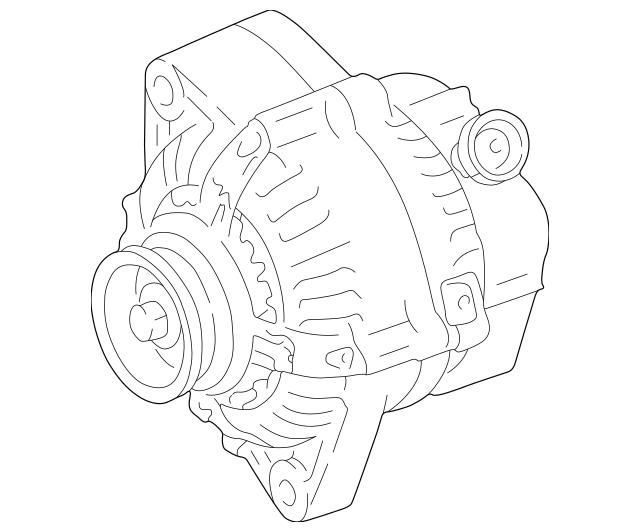 2001-2003 Toyota RAV4 Remanufactured Alternator 27060