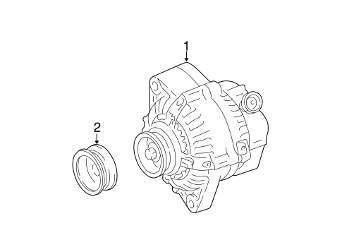 Alternator/Generator & Related Components for 2001 Toyota