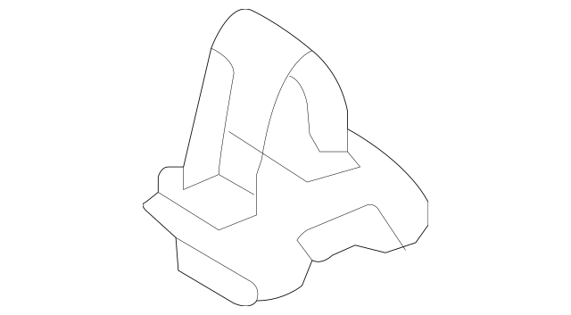 2004-2007 Mazda 6 Trunk Trim Panel Clip GM9E-68-86ZB-80