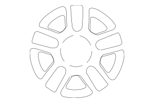 Buy this Genuine 2005-2007 Ford Escape Wheel, Alloy 6L8Z