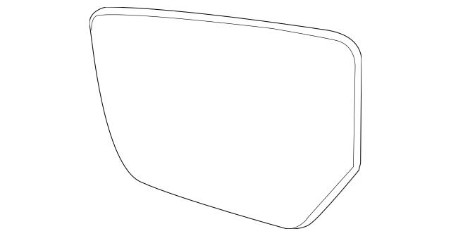 2014-2015 Chevrolet Impala Mirror Glass 22761464