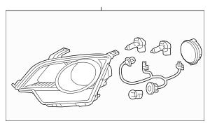 2015 Chevrolet Captiva Sport Composite Assembly 23136996