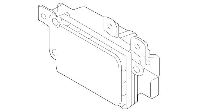 Buy this Genuine 2014-2016 Kia Cadenza Distance Sensor