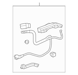 2013-2015 Honda CROSSTOUR 5-DOOR Cable Assembly, Starter