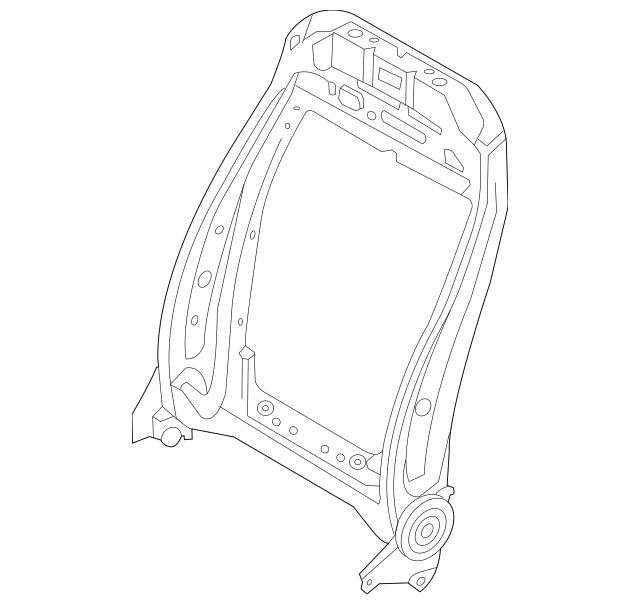 2020 Lincoln Aviator Seat Back Frame LC5Z-7861018-DJ