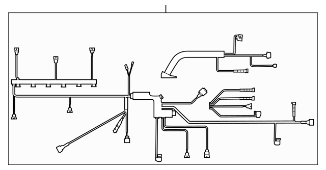 2010-2011 BMW X6 Engine Wiring Harness 12-51-7-601-366