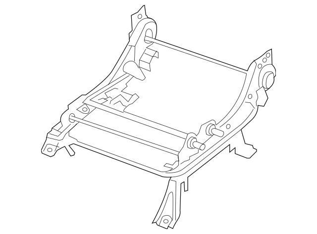 2005-2012 Nissan Seat Adjust Assembly 87450-ZP00A
