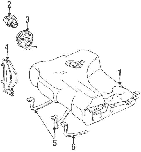 Fuel System Components for 1992 Volkswagen Corrado