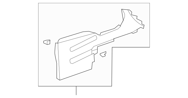 2010-2012 Acura RDX 5-DOOR Garnish Assembly, Console