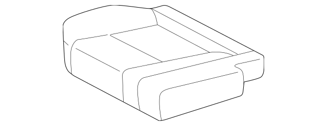 2005-2007 Toyota Sequoia Cushion Cover 79021-0C030-E2