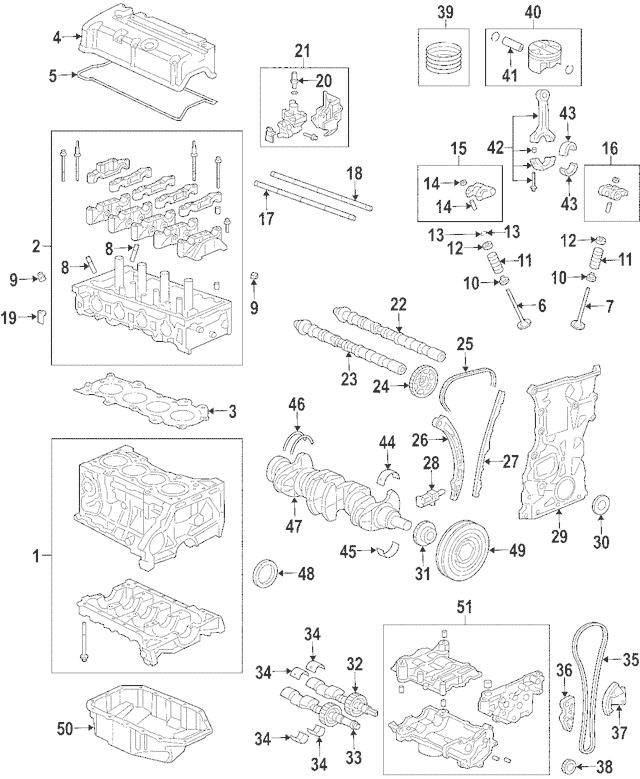 2002-2011 Honda Actuator Assembly, Vtc (46T) 14310-RBC-003