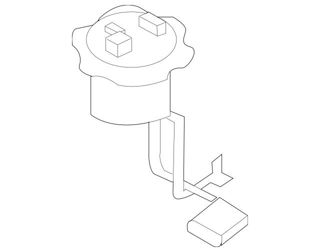 2009-2015 Nissan 370Z Fuel Pump Assembly 17040-1EA0B