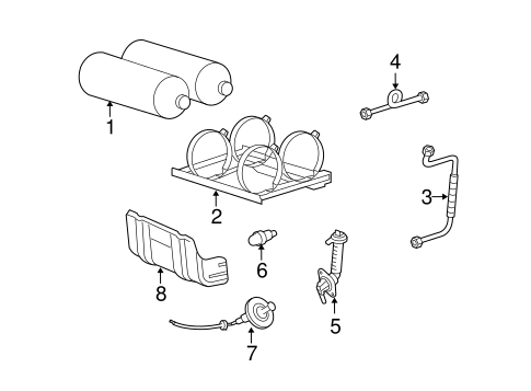 Fuel System Components for 2004 Ford Crown Victoria