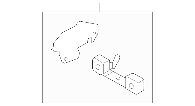 2011-2014 Ford Mustang Front Bracket BR3Z-5A246-E