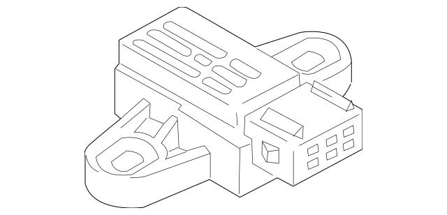 2003-2006 Kia Sorento Control Module 95640-3E000