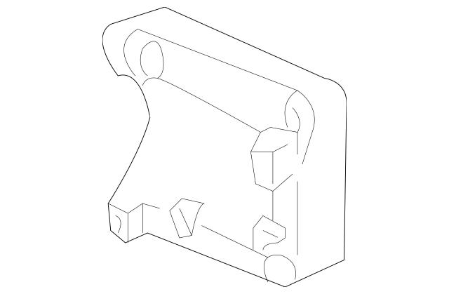Genuine Bracket, Compressor for 2004-2009 Acura Part