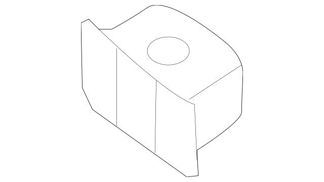 2014-2020 Nissan Grille Assembly Grommet 62319-AU000