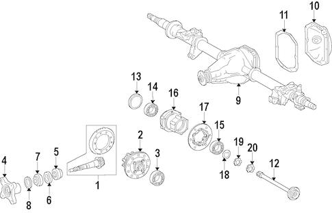 Propeller Shaft for 2015 Mercedes-Benz Sprinter 3500