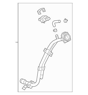 2015-2017 Hyundai Veloster Filler Neck 31030-2V501