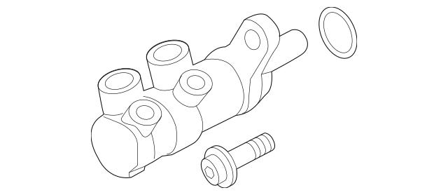 2016 Audi A3 Sportback e-tron Master Cylinder Repair Kit
