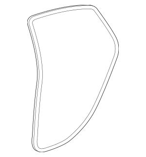 2014-2016 Dodge Dart Weather-Strip On Body 68085078AF