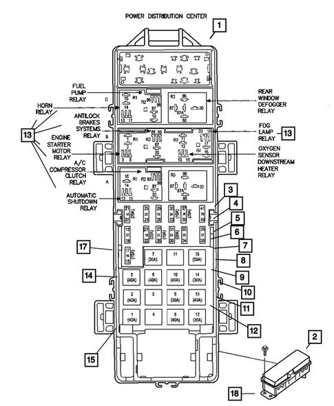 2012 Jeep Wrangler Fuse Diagram : Jeep Wrangler Jk Fuse