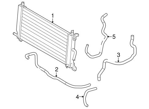 Genuine OEM Inverter Cooling Components Parts for 2009
