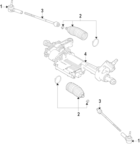 STEERING GEAR & LINKAGE for 2015 Ford Mustang