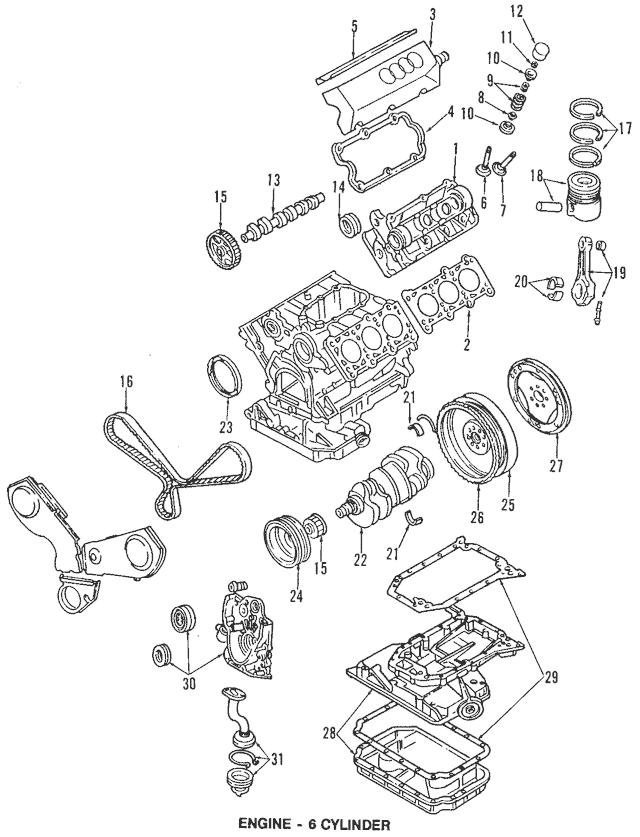 Discount Genuine OEM 1992-1999 Audi Timing Belt 078-109