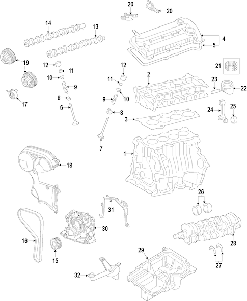 Oil Pump for 2015 Ford Transit Connect