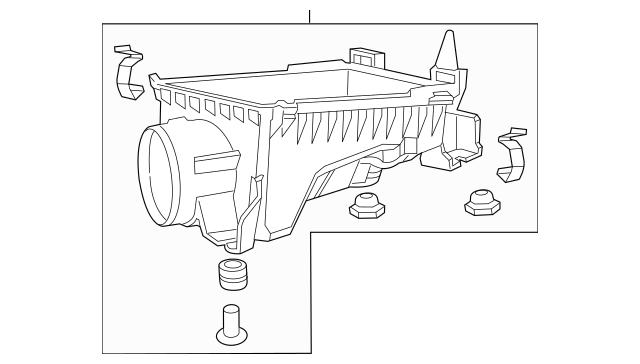 2012-2015 Honda Case Set, Air Cleaner 17201-RX0-A00