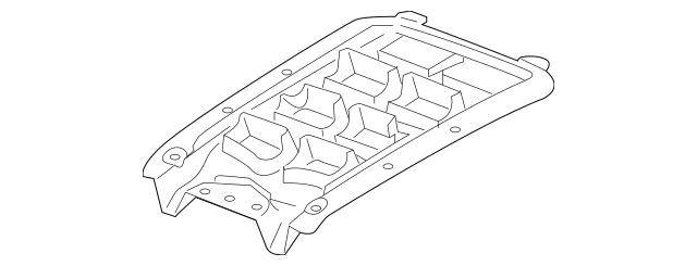 2014-2015 Chevrolet Camaro Air Deflector 23213078