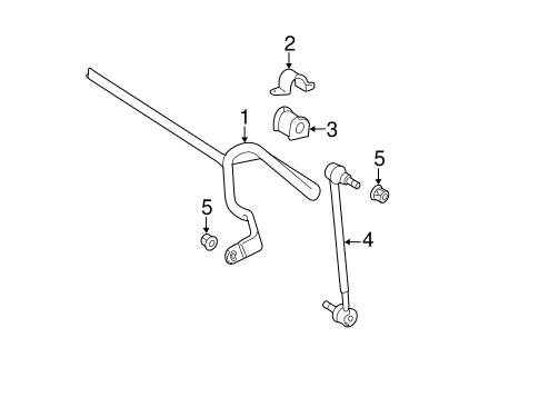 Stabilizer Bar & Components for 2007 Toyota Camry