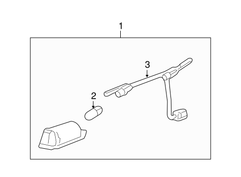 OEM LICENSE LAMPS for 2011 Chevrolet Camaro