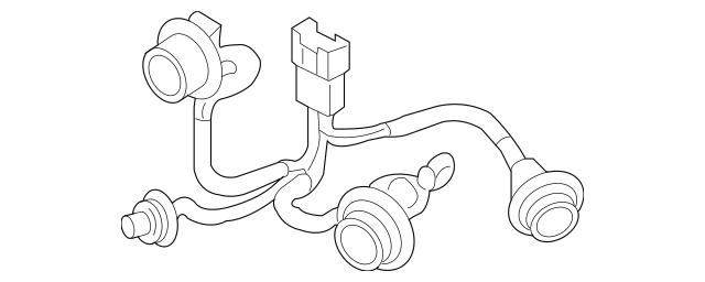 2006-2011 Hyundai Accent Socket & Wire 92490-1E010