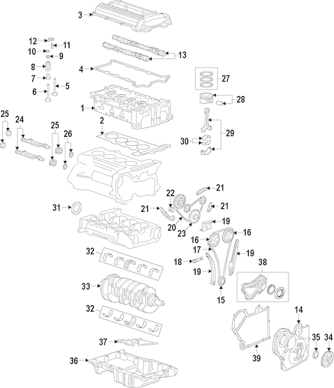 Engine for 2013 GMC Terrain|12657111 : GM Parts Direct