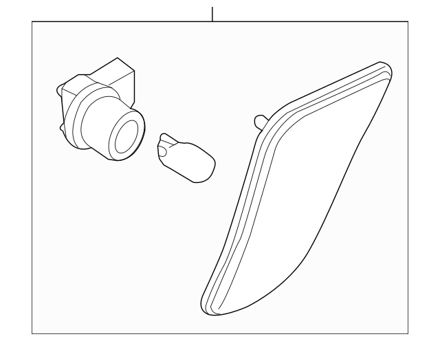 OEM NEW 2009-2012 Mazda MX-5 Miata Signal Lamp Right Side