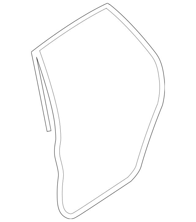 2014-2018 Subaru Forester Door Weather-Strip 63512SG001