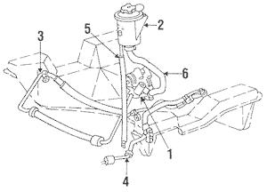 2010 F150 Power Steering Hose Diagram