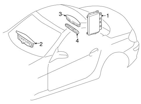 Electrical Components for 2008 Mercedes-Benz SLK 55 AMG