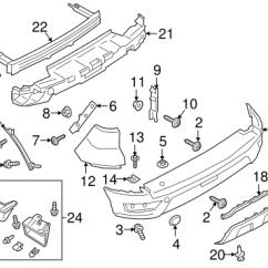 1996 Ford Ranger Front Suspension Diagram Farmall Super A Distributor Wiring 1999 Bumper Database Harnes Retainer Polaris