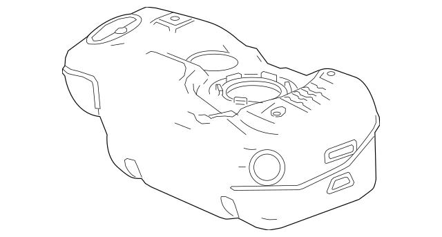 2016-2019 Chevrolet Spark Fuel Tank 42400769