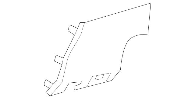 2011-2016 Scion tC Fuse Box Cover 55545-21020-B0